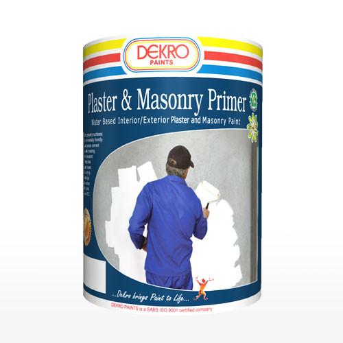 Plaster and Masonry Primer