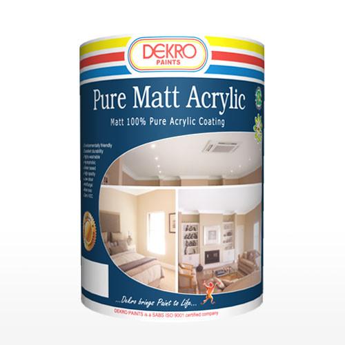 Pure Matt Acrylic