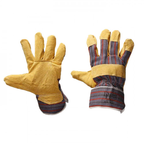 Candy Strip Glove Pig Skin