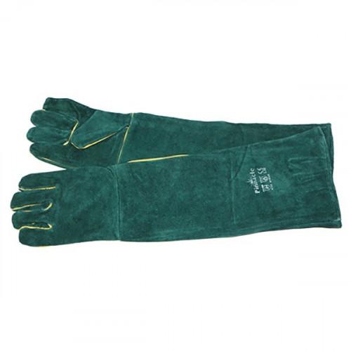 Green Lined glove shoulder...