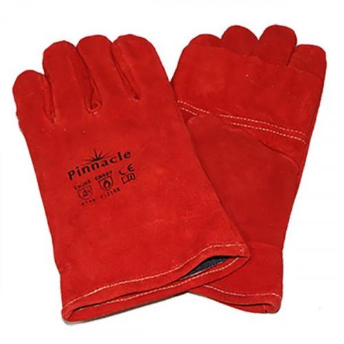 Red heat resistant glove...