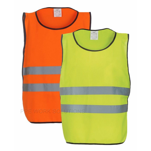 Reflective Bib Orange and Lime