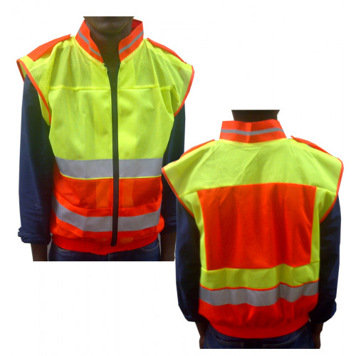 Reflective Jacket Lime &...